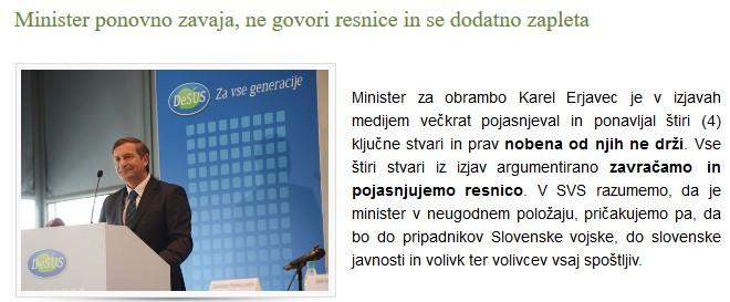 Vir: Sindikat vojakov Slovenije