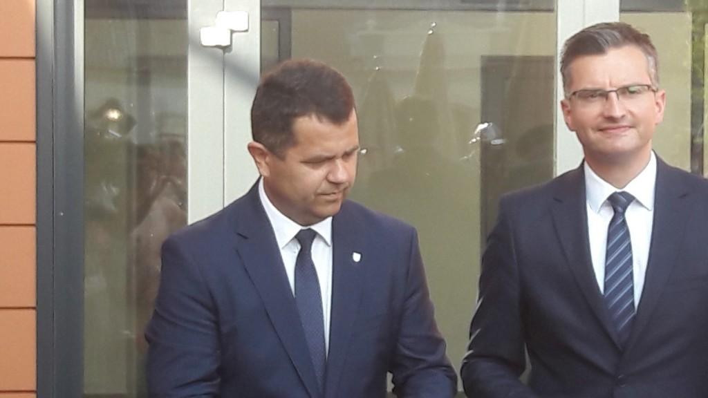 Janez Magyar in Marjan Šarec