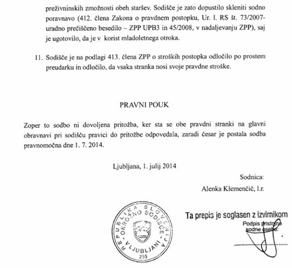 Kot je razvidno iz sodne dokumentacije, za Vizjaka dela tudi odvetniška pisarna Mira Senice, kar smo sicer že pisali.