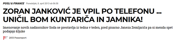 Vir: Požareport, april 2013