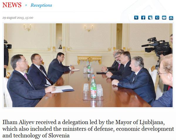 Baku, avgusta 2013: Azerbajdžanci niso dvomili, Janković je bil šef, Jakič in Stepišnik pa outsiderja.