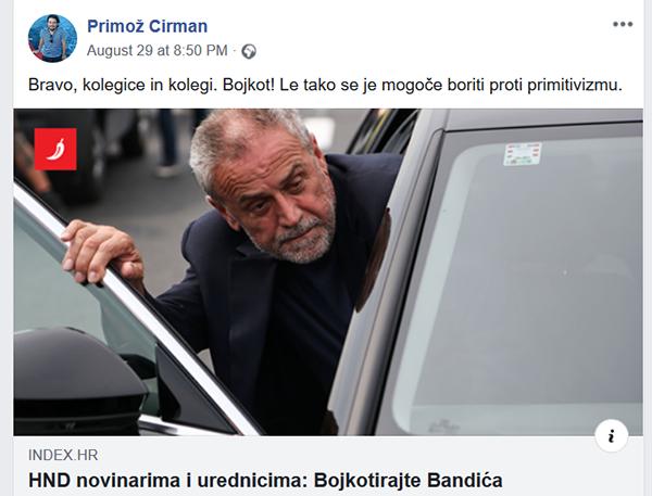 Vir: Facebook