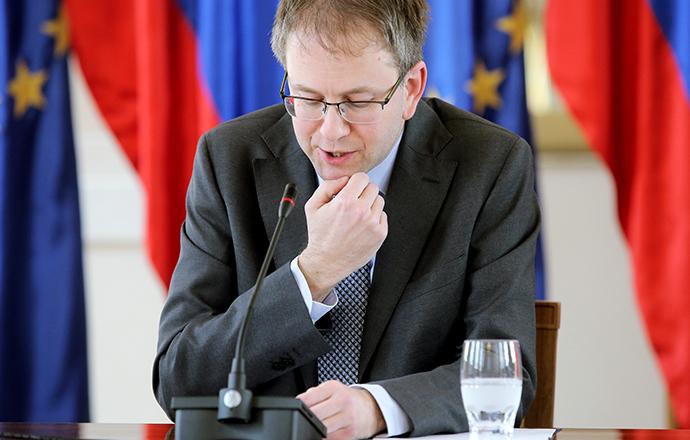 Matej Accetto je danes podpredsednik ustavnega sodišča. (foto: STA)