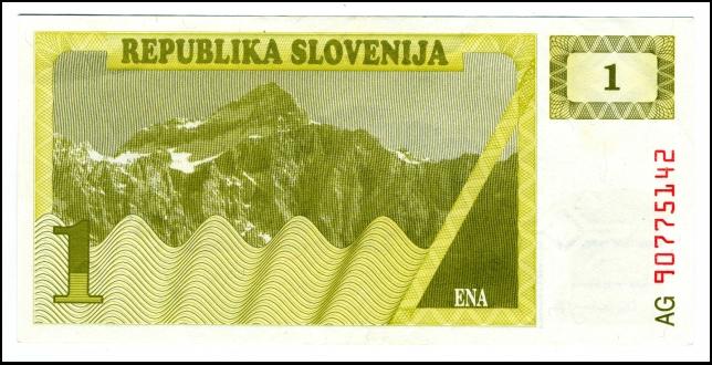 BANKOVEC - BON - REPUBLIKA SLOVENIJA 1<br> Inv. št.: Nm 6063