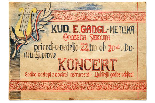 GODBENIŠKI PLAKAT<br>1951, Metlika<br>45 x 63 cm<br>Inv. št.: PL 263