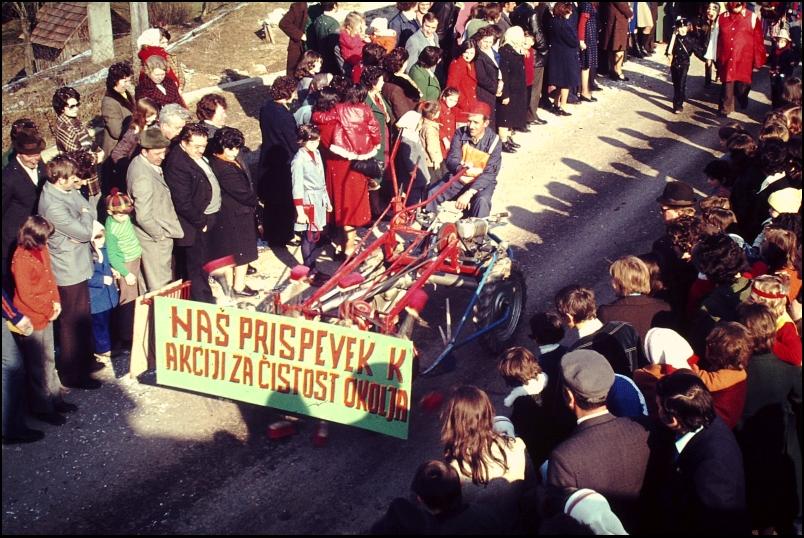 1976<br>Gradac - pustovanje<br>3,5 x 4 cm<br>Inv. št.: E375