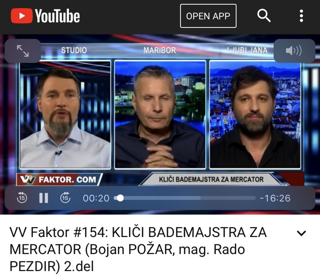 Vir: Faktor na TV3, 14. junij 2018
