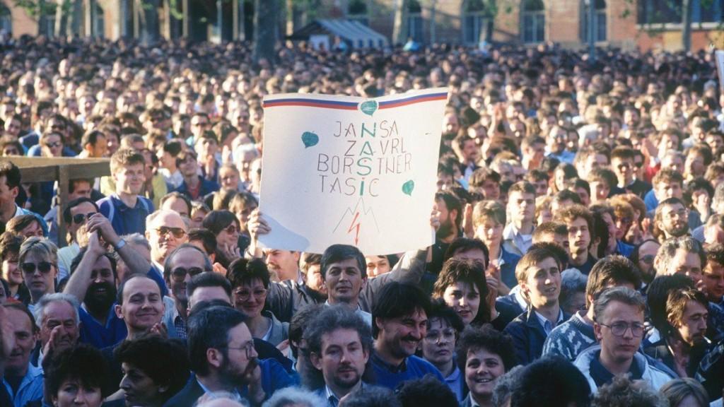 Slovenija, Ljubljana, 08.05.1989,