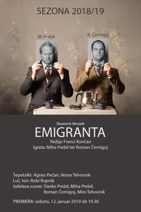Predstava Emigranta