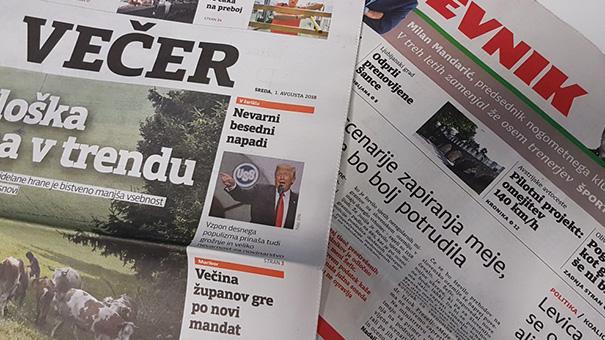 Večer + Dnevnik = DV mediji, d. o. o.?!