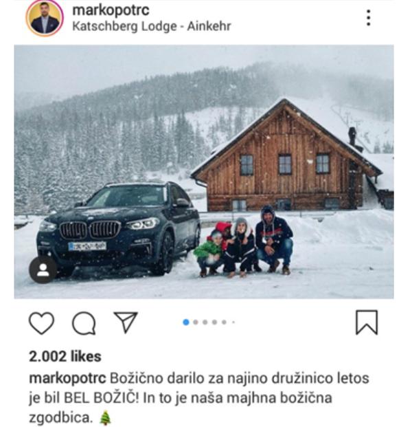 Vir: Instagram