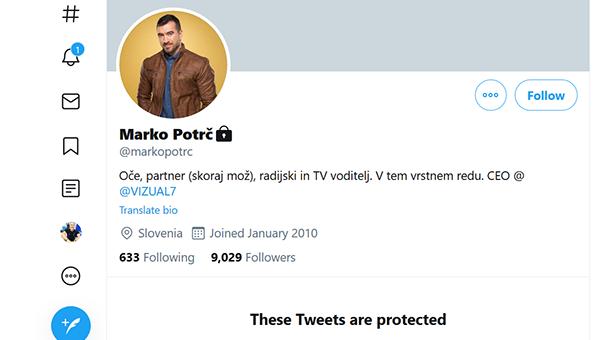 Marko Potrč na twitterju - po novem ...?!