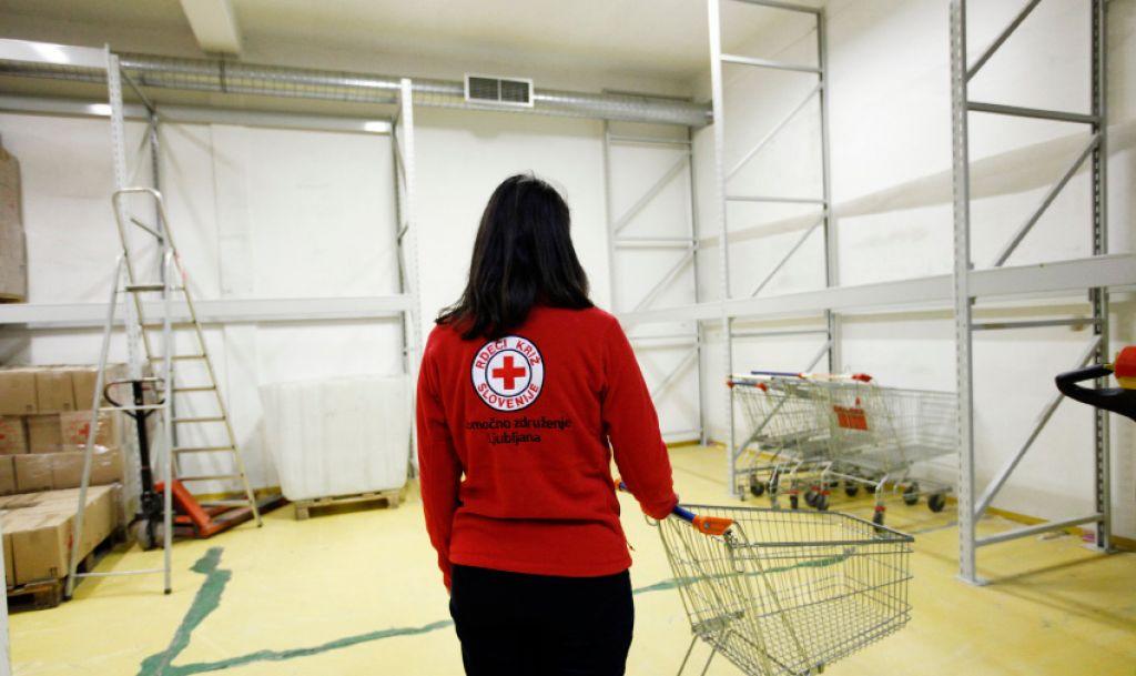 Skladišče mariborskega Rdečega križa so povsem prazna
