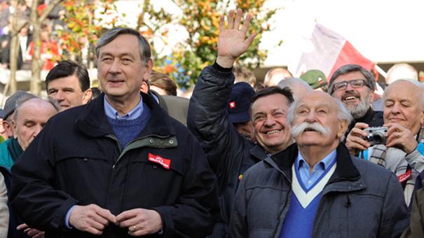 Vsako leto Dražgoše: Danilo Türk, Zoran Janković, Janez Stanovnik in Roman Jakič ...