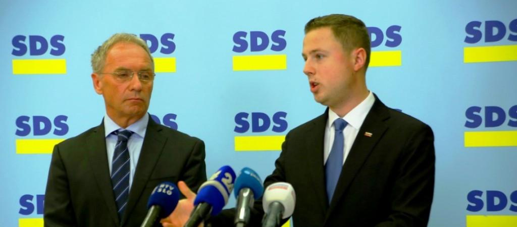 Aleš Hojs in Žan Mahnič