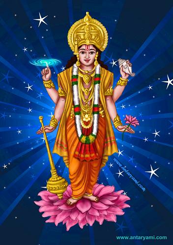 What Does Vishnu Represent In Hindu Mythology - Antaryami.com