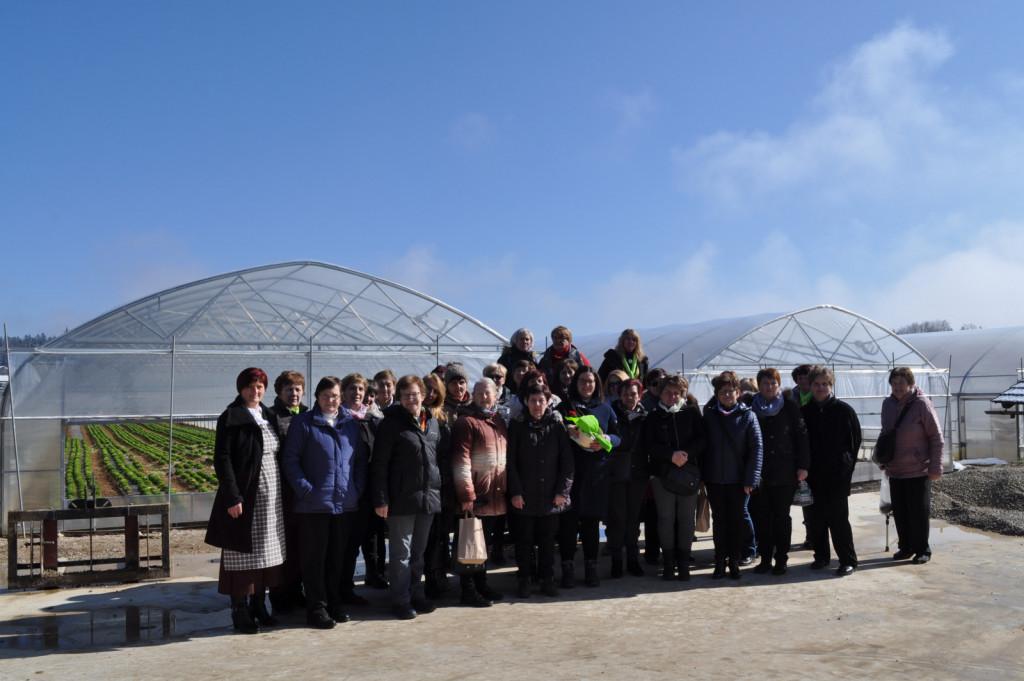 Regijsko srečanje članic društev iz ljubljanske regije so gostile Ivanjščice