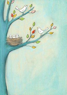 Creative Thursday // Baby birds