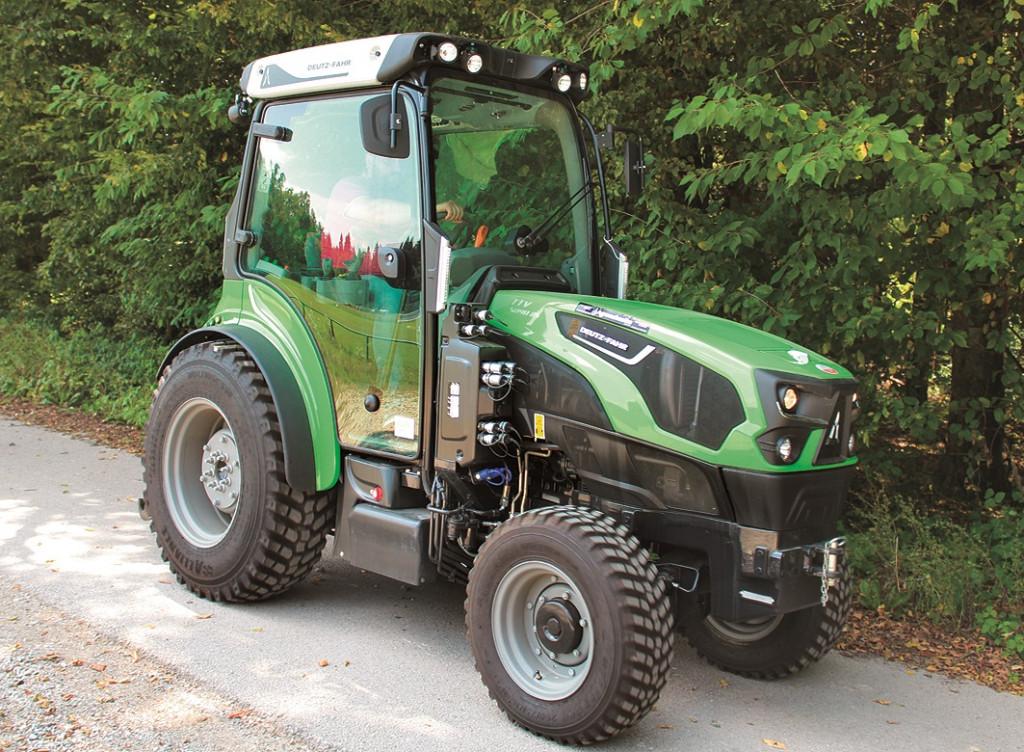 Deutz Fahr 5090DS TTV, specialna serija za delo v nasadih