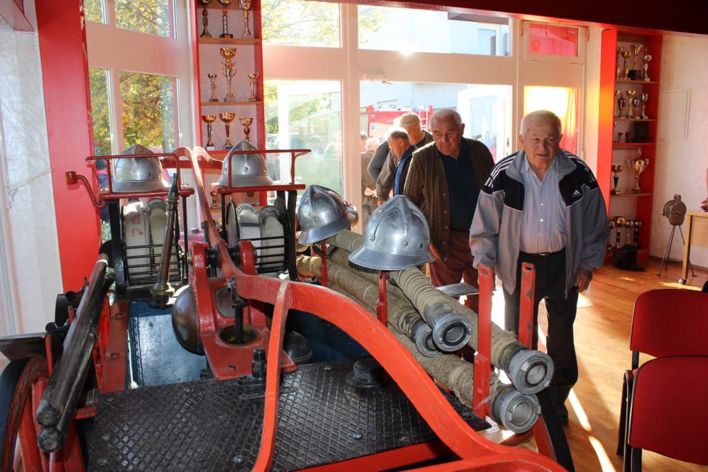 Muzej, pravzaprav gasilska soba, je obiskovalcem na voljo od konca leta 2017.l
