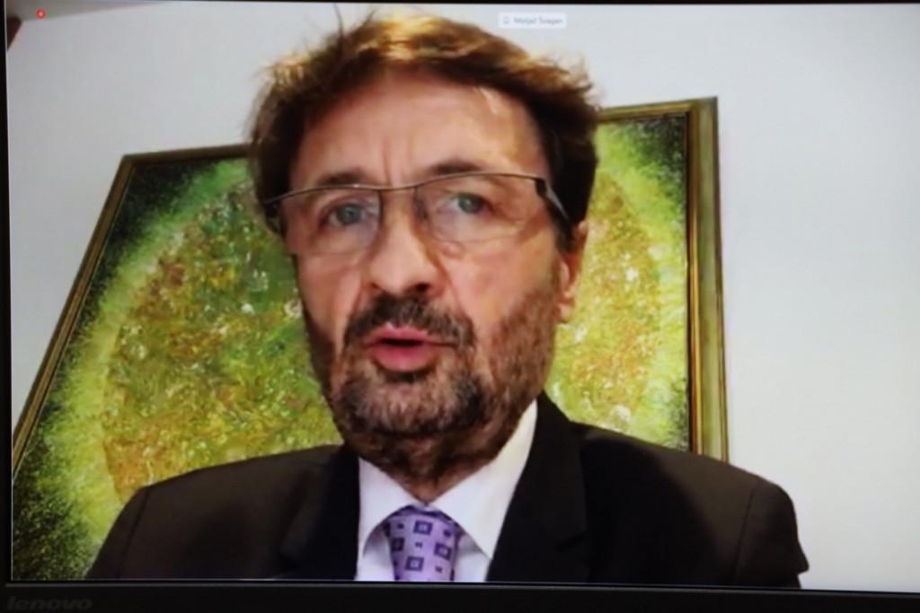 Matjaž Švagan, podpredsednik DS, 29. redna seja Državnega sveta<br>(Avtor: Milan Skledar)