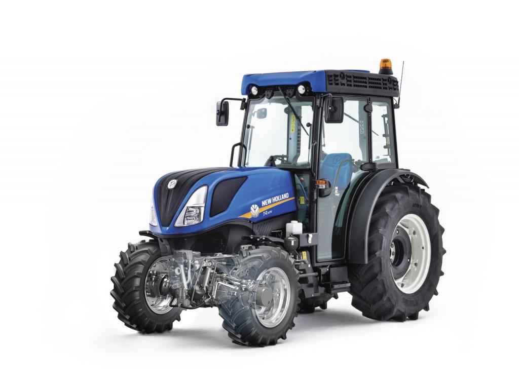 Novost je Terraglide vzmetenje pri specialnih traktorjih