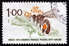 Bee and Beehive Stamp Collection