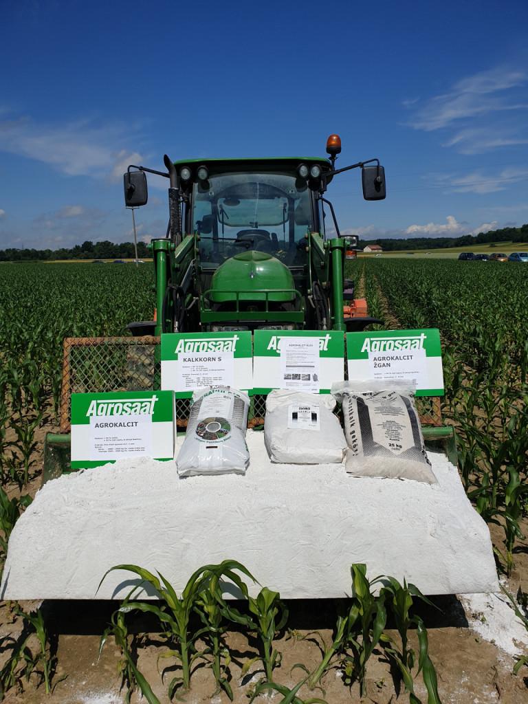 Apnena gnojila za dvig kakovosti kmetijskih zemljišč.