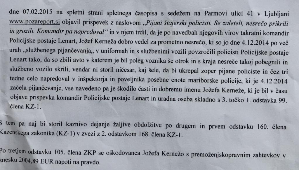 Vir: Zapisnik o razglasitvi sodbe - 30.7.2020