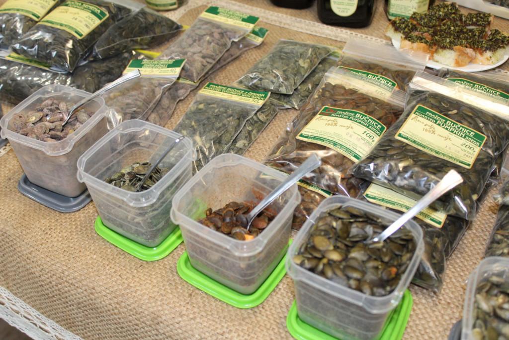 Bučna semena so lahko zdrav prigrizek.