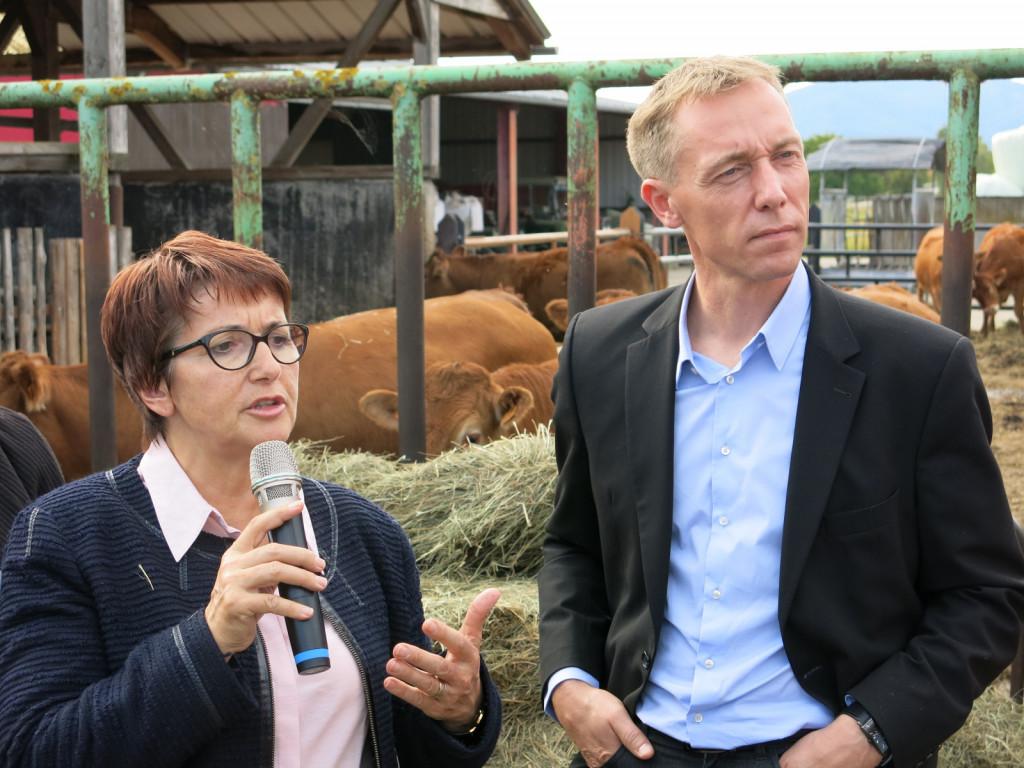 Christiane Lambert (levo), nova predsednica Copa