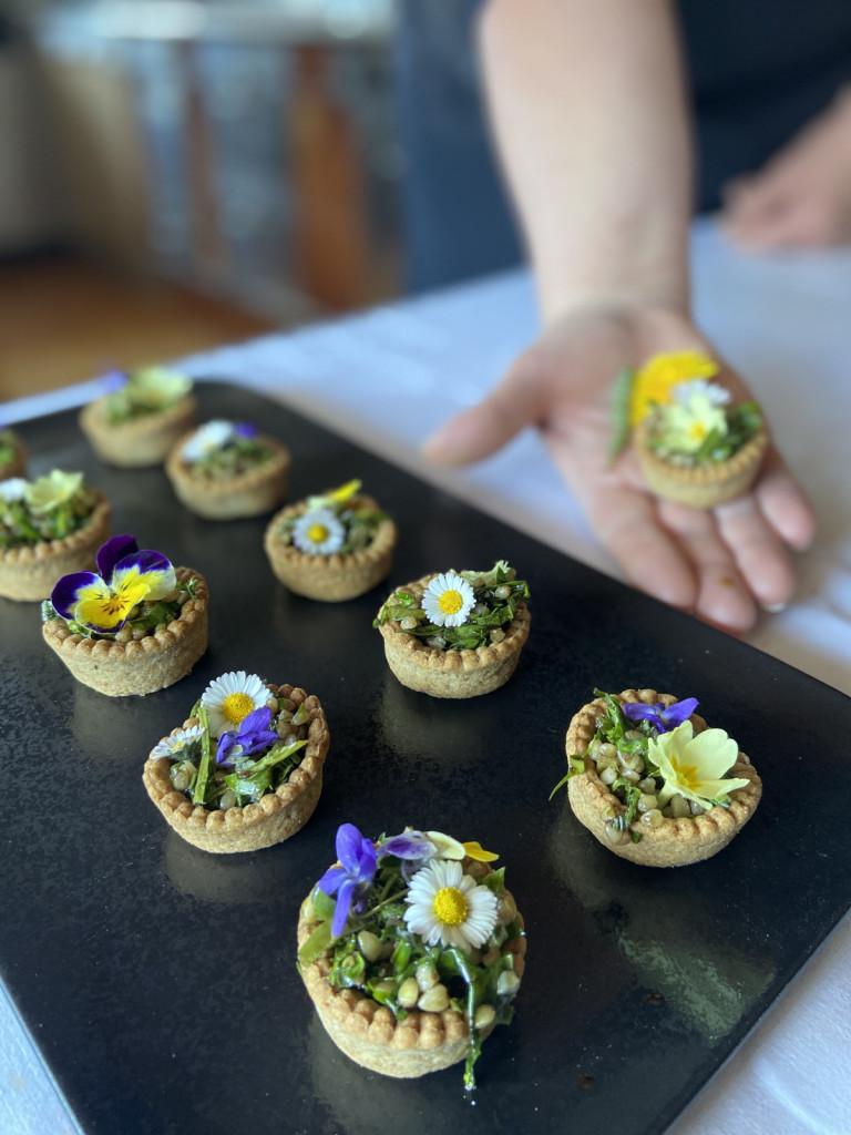 »Solatke na obisku« so kompromis med kulinarično dediščino in divjo hrano.