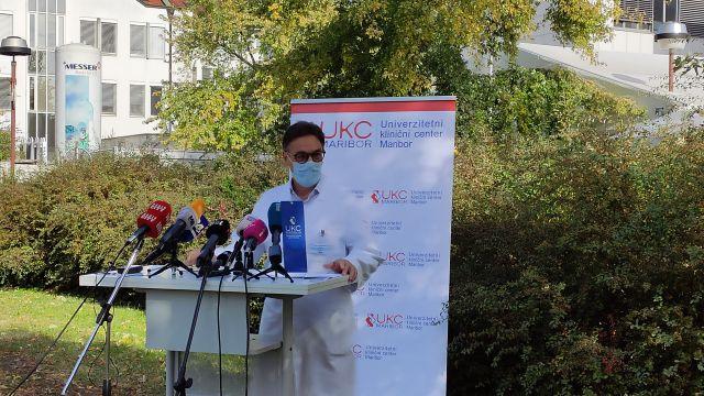 Predstojnica oddelka za infekcijske bolezni in vročinska stanja Nina Gorišek Miksić