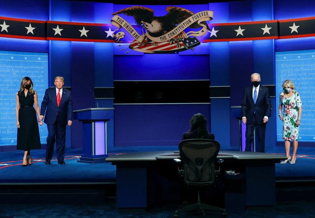 Nashvill, drugo in zadnje soočenje Donalda Trumpa in demokratskega kandidata Joe Bidena pred predsedniškimi volitvami 3. novembra