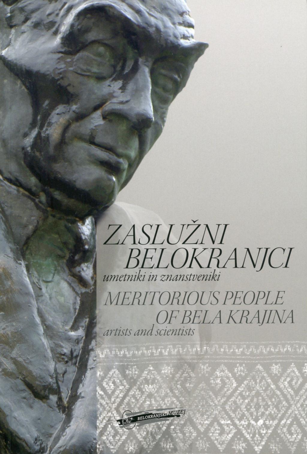 Andreja Brancelj Bednaršek Zaslužni Belokranjci: umetniki in znanstveniki, 2011