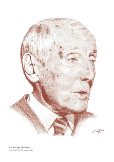 Najzahtevnejši portretiranec je bil Leon Štukelj, pravi Martina