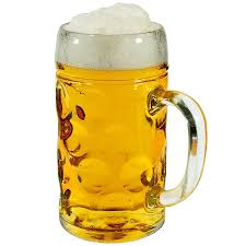 Veliki kozarec za pivo 1,3L, krigla - Ceneje.si
