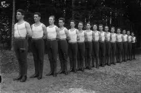 Homški telovadci ob telovadni akademiji 1926