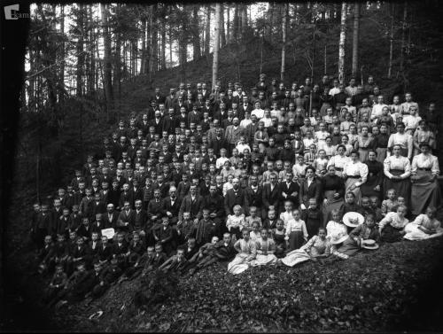 Zbor članov Abstinenčnega krožka leta 1910