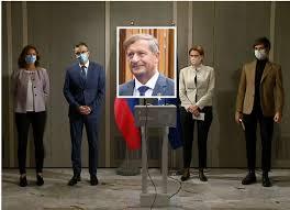 Izhodišča pred finalom rušenja Janševe vlade: obeti strank Koalicije  ustavnega loka - Domovina