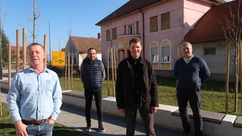 Alojz Topolovec, Igor Paldauer, Mihec Rozmarič in Alojz Štuhec
