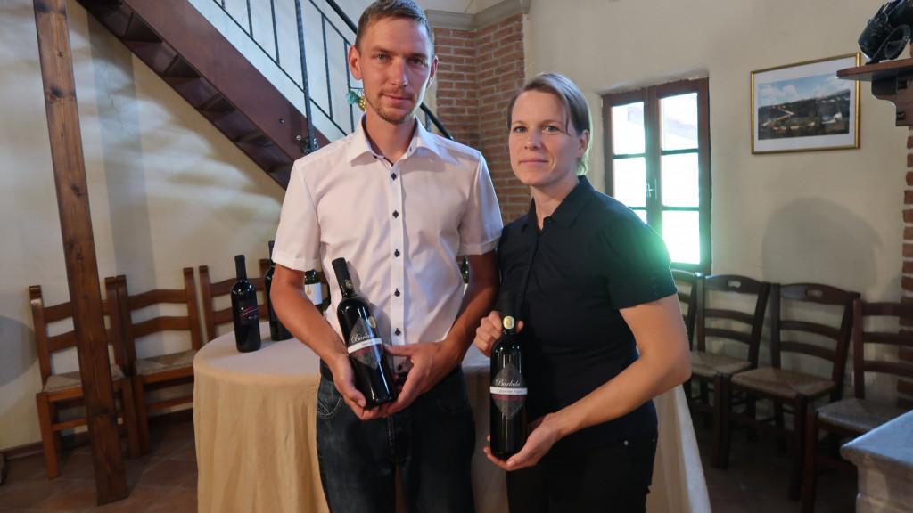 Tadej Kavčič in Sanja Ribolica Kavčič (foto: Darja Zemljič)