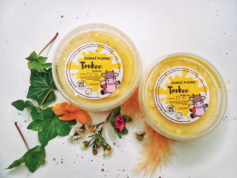 Najnovejši izdelek: domači puding Tonkec
