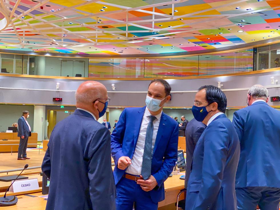 Minister dr. Logar na zasedanju Sveta EU za zunanje zadeve   Avtor Ministrstvo za zunanje zadeve