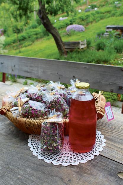 Zeliščna mešanica za pripravo sadnega sirupa