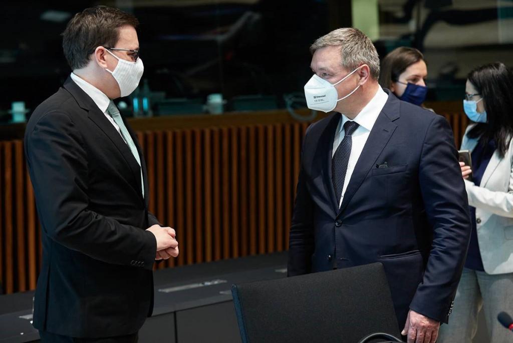Minister Koritnik in romunski minister Ciprian Sergiu Teleman, odgovoren za raziskave inovacije in digitalizacijo