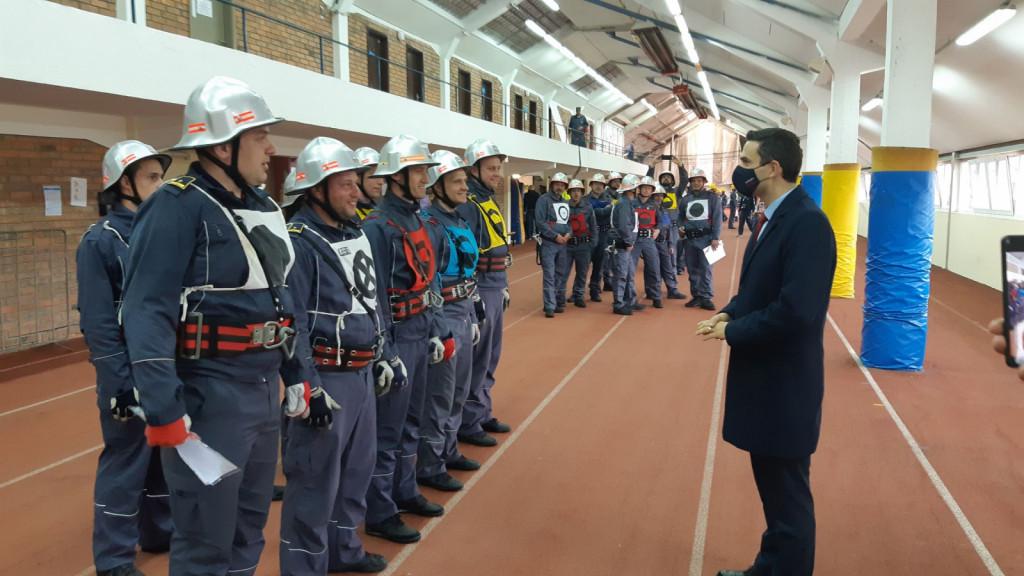 Včeraj in danes je v Celju potekalo državno gasilsko tekmovanje, ki velja tudi kot izbirno tekmovanje za gasilsko olimpijado, ki bo potekala od 17. – 24. julija 2022 v Celju. Tekmovanje si je ogledal tudi minister za obrambo Matej Tonin.