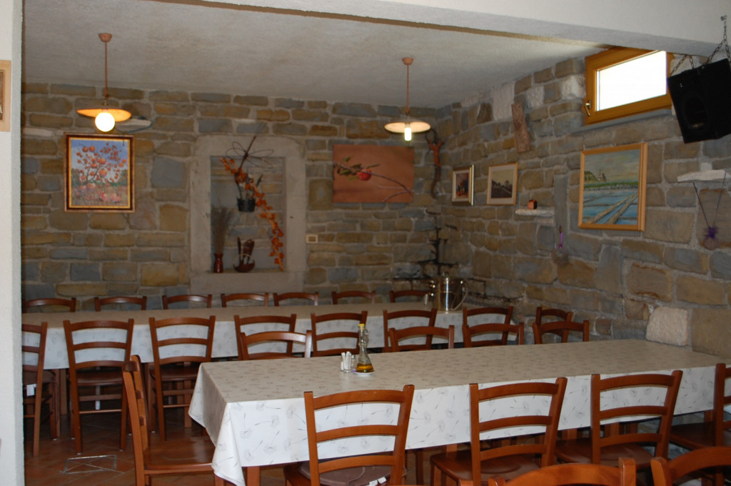 Soba za degustacije in pogostitev