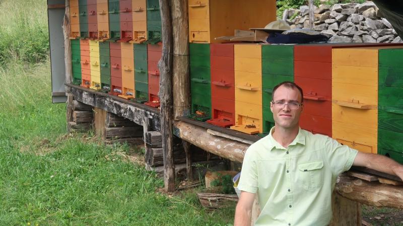 Tomaž bo čebelarstvo nadgradil z apiterapijo