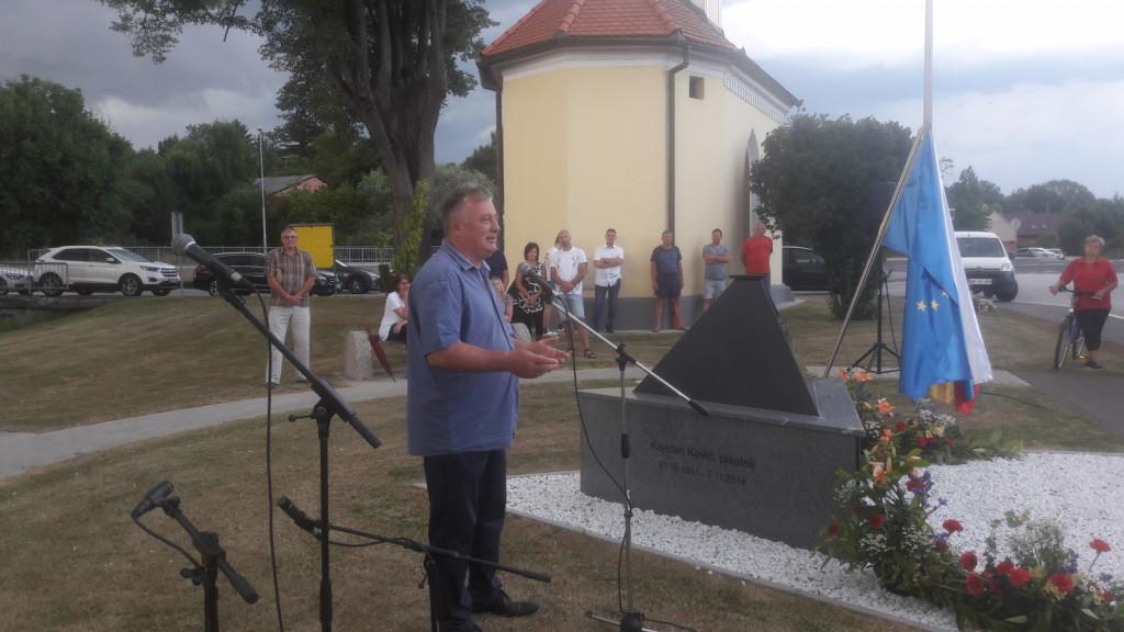 Nekaj besed je zbranim namenil tudi župasn Radencev Roman Leljak, pri čemer je spomnil na dosežke v njegovem mandatu in napovedal vnovično kandidaturo leta 2022